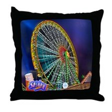 The Ferris Wheel Throw Pillow