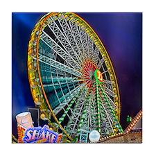 The Ferris Wheel Tile Coaster