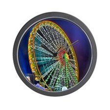 The Ferris Wheel Wall Clock