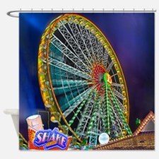The Ferris Wheel Shower Curtain