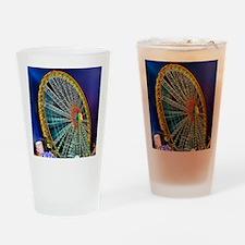 The Ferris Wheel Drinking Glass