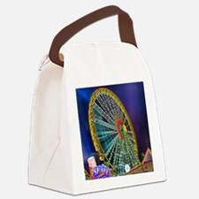 The Ferris Wheel Canvas Lunch Bag