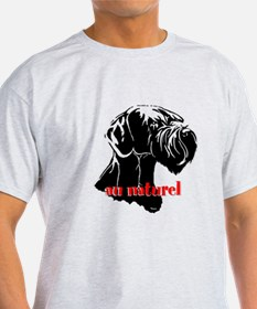 giant or schnauzer wag your tail T-Shirt