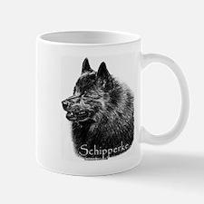 Schipperke head Mug