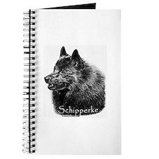 Schipperke head Journal