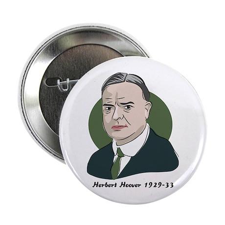 Herbert Hoover Button Badge