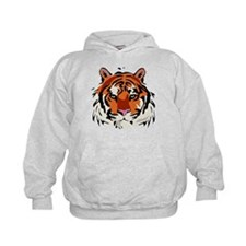 Tiger face Hoodie