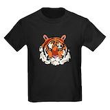 Kids tiger Kids T-shirts (Dark)