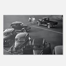 Cars Downtown, 1942 Postcards (Package of 8)