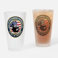 CVN-73 USS George Washington Drinking Glass