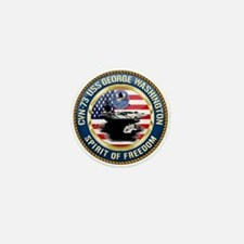 CVN-73 USS George Washington Mini Button