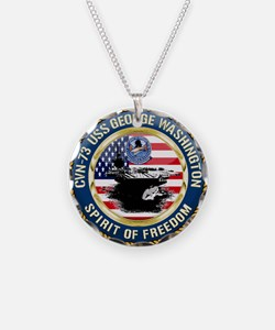 CVN-73 USS George Washington Necklace