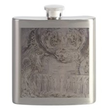Fall of Man by William Blake. Flask