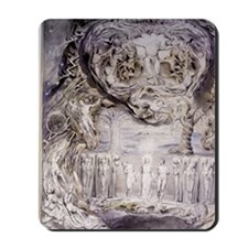 Fall of Man by William Blake. Mousepad