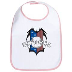 Tribal Softball Bib