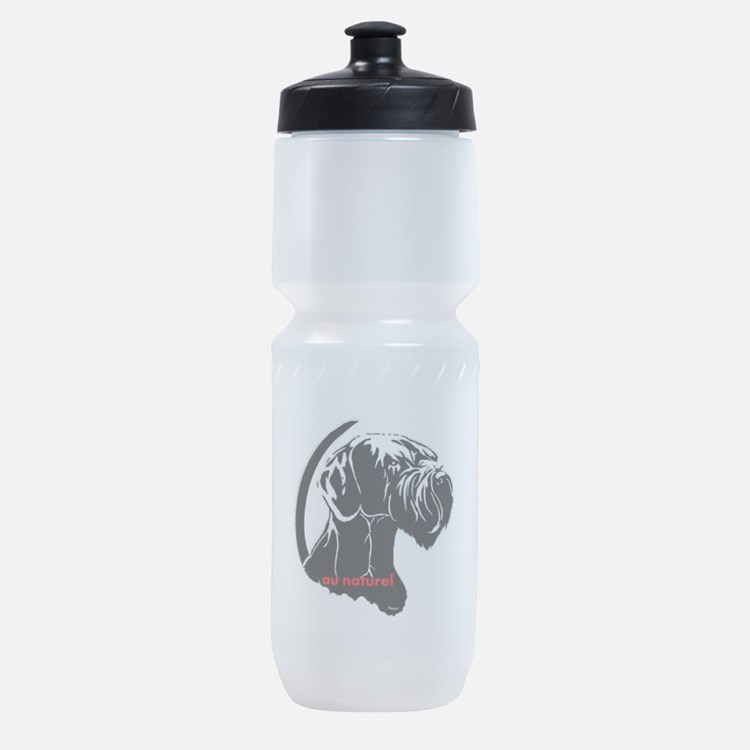 giant or schnauzer wag your tail Sports Bottle