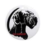 Giant schnauzer Round Ornaments