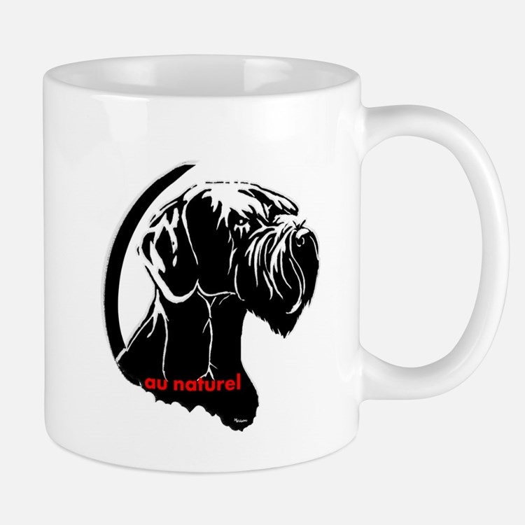 giant or schnauzer wag your tail Mug