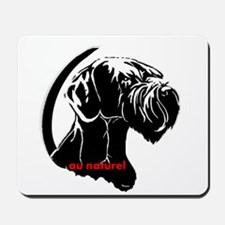 giant or schnauzer wag your tail Mousepad