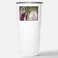 Christ washing feet of  Stainless Steel Travel Mug