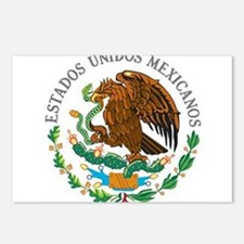 Cute Mexico flag Postcards (Package of 8)