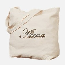 Gold Alena Tote Bag