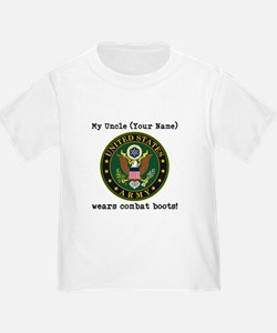 My Uncle Wears Combat Boots Army (Custom) T-Shirt