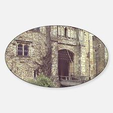 Hever Castle. Entrance drawbridge.  Decal