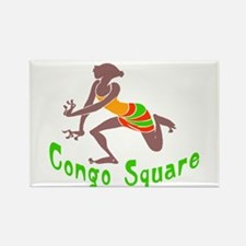 Congo Square Rectangle Magnet