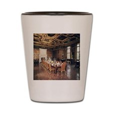 Longleat House. State dining room. Engl Shot Glass