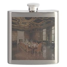 Longleat House. State dining room. England. Flask