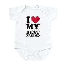 I love my best friend Infant Bodysuit