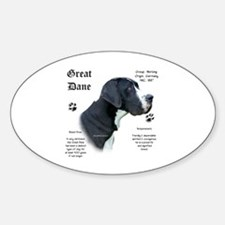 Mantle(n) History Oval Decal