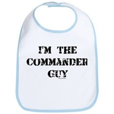 Commander Guy Bib