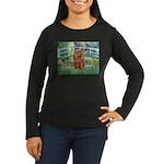 Bridge & Ruby Cavalier Women's Long Sleeve Dark T-