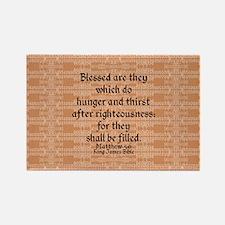 Matthew 5:6 Magnets