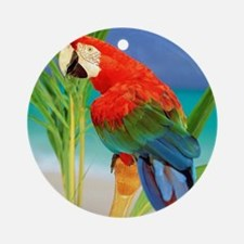 Parrot Round Ornament