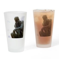 The Thinker. By Rodin. 1906. France Drinking Glass