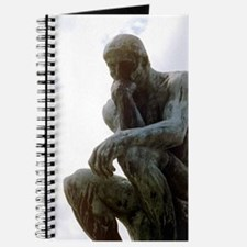 The Thinker. By Rodin. 1906. France. Journal