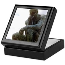 The Thinker. By Rodin. 1906. France. Keepsake Box