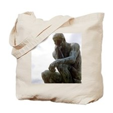 The Thinker. By Rodin. 1906. France. Tote Bag