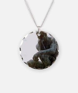 The Thinker. By Rodin. 1906. Necklace