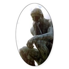 The Thinker. By Rodin. 1906. France Decal