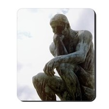 The Thinker. By Rodin. 1906. France. Mousepad