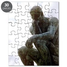 The Thinker. By Rodin. 1906. France. Puzzle