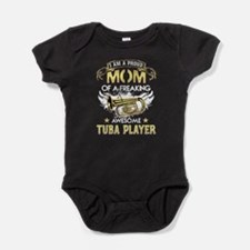 Proud Mom Of Tuba Player Tshirt Body Suit