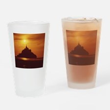 Mont-St-Michel. FRANCE. Drinking Glass