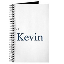 I'm a Kevin Journal