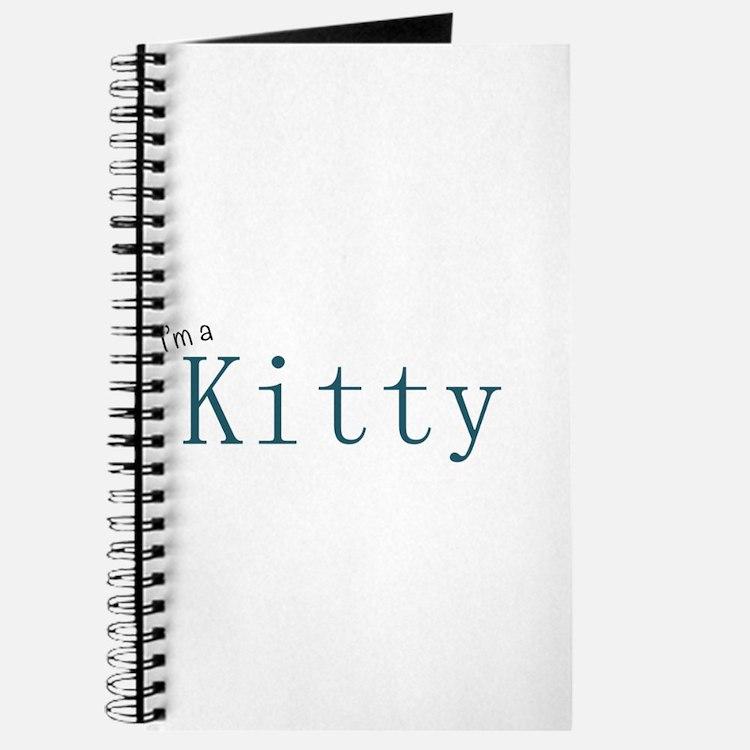 Cute Kitty walker Journal