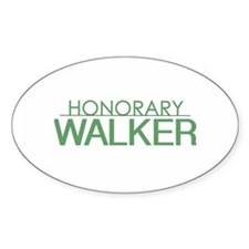 Honorary Walker Decal